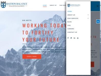פיתוח קידום אורגני וניהול מוניטין אתר של חברת ניהול השקעות