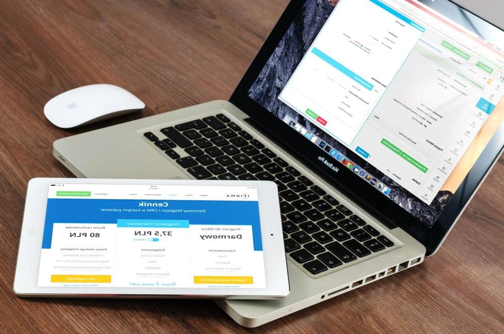 מחשב נייד ו ipad - שיווק אתר אינטרנט