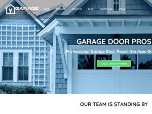 פיתוח נכס דיגיטלי וקידום אתר בקנדה Garage Door Pros Ontario
