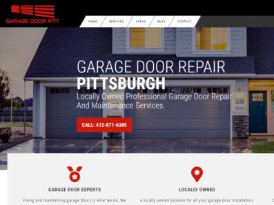 פיתוח וקידום נכס דיגיטלי בארהב GARAGE DOOR REPAIR PITTSBURGH