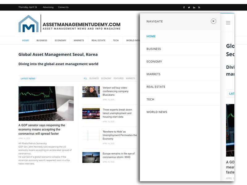 פיתוח וקידום נכס דיגיטלי מגזין פיננסי